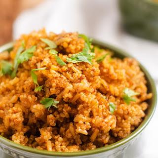 Slow Cooker Mexican Quinoa & Rice