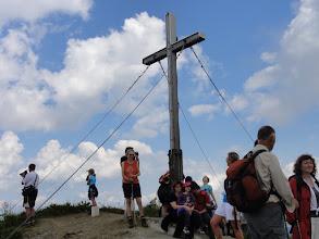Photo: Ulli am Gipfelkreuz Fellhorn