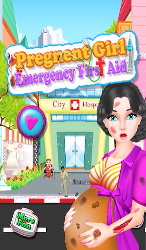 懷孕的女孩醫生遊戲