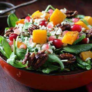 Festive Harvest Autumn Salad