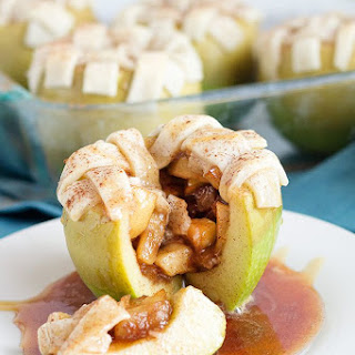 Apple Pie Stuffed Apples.