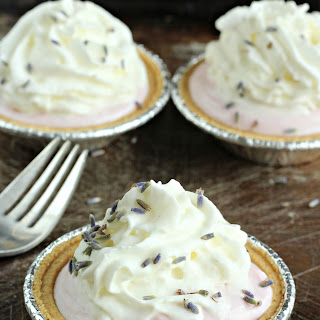 Lavender Strawberry Mini-Pies