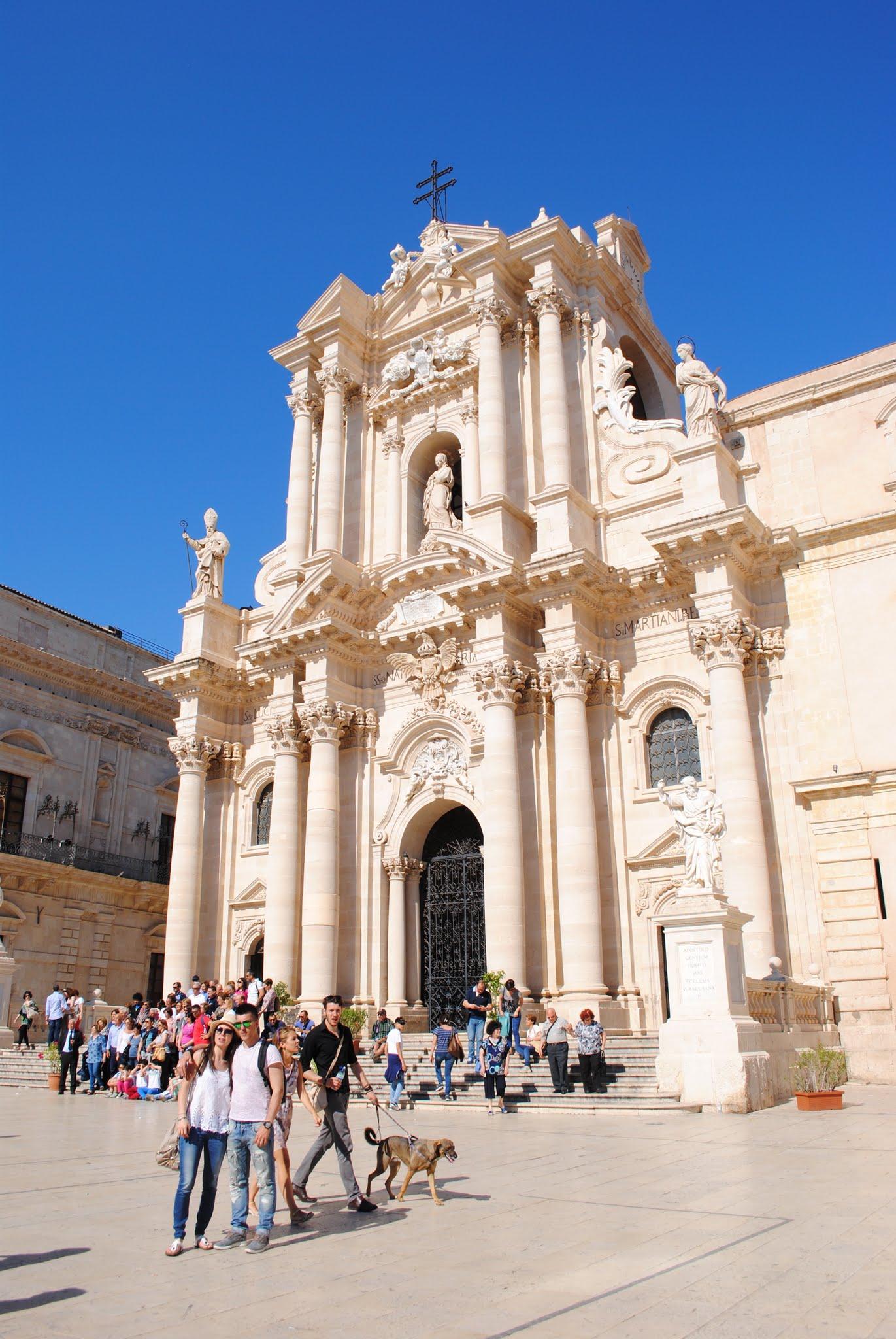 My Photos: Italy -- Sicily -- Siracusa -- Duomo and Piazza