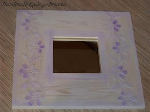 Photo: wooden mirror 20