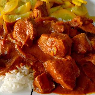 Slow Cooker Butterless Butter Chicken