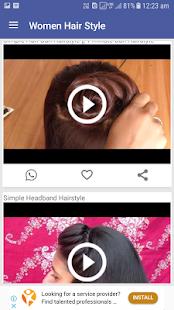 Women Hair Style Videos - náhled