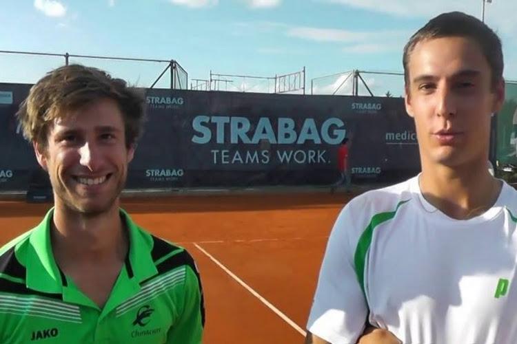 Deux Belges qualifiés pour les demi-finales double du challenger de Rome