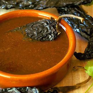 Smoky Poblano Enchilada Sauce