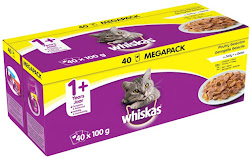 Whiskas Pouch Jelly Poultry Selection - 100g, 40pk