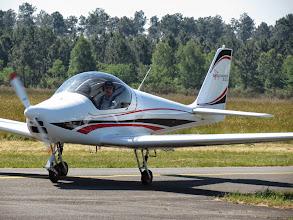Photo: Philippe Boucherat avec le Skyleader 200