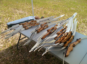 Photo: Archery bows