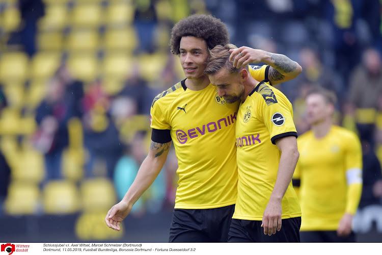 La crise a frappé Witsel, Hazard et le Borussia Dortmund