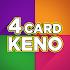 Four Card Keno FREE 💰 4 Ways to Win Keno Games!