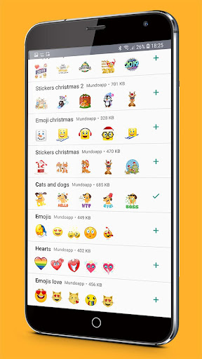 ?wastickerapps emojis stickers for whatsapp screenshot 3