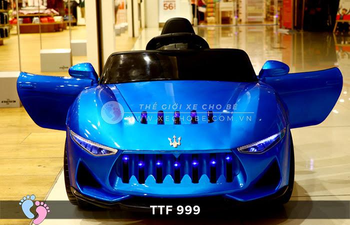 Ô tô điện đồ chơi trẻ em cao cấp TTF-999 11