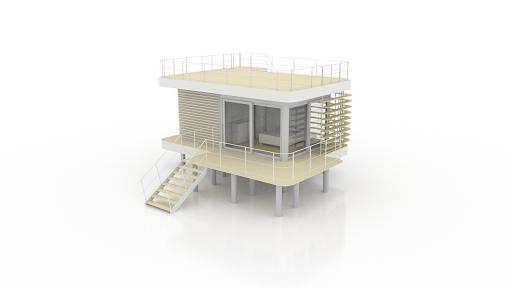 terrasse basse & terrasse toit