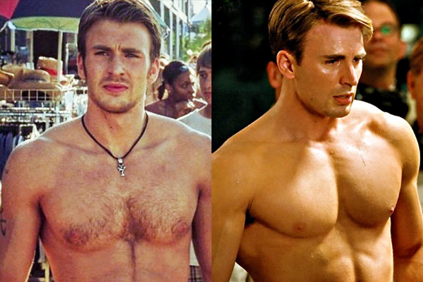 Chris Evans – Captain America