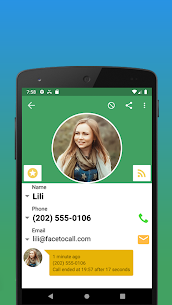 Contacts, Dialer and Phone by Facetocall 4