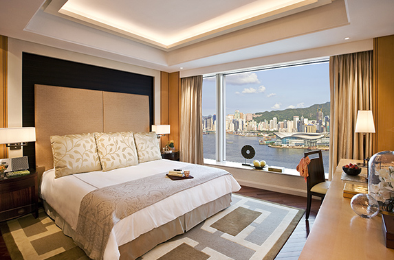 Superior bedroom in Splendid residences in CBD, Hong Kong