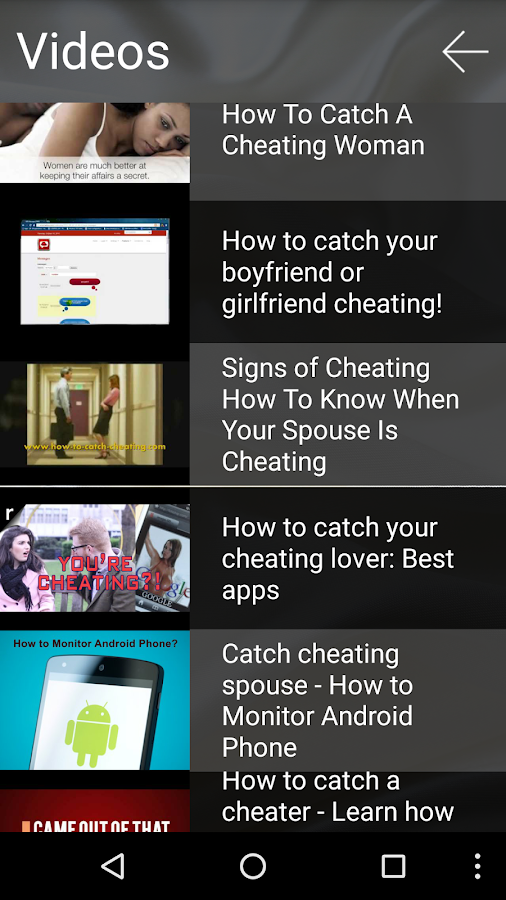 Catch Your Cheating Spouse!- screenshot
