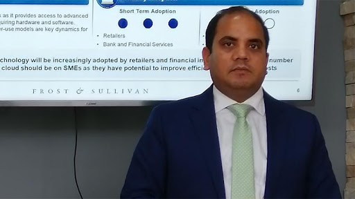 Saurabh Verma, head of ICT for Frost & Sullivan, Middle East and Africa.