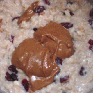 Fruity Nut Butter Oatmeal