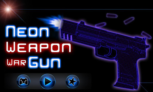 Neon Weapon War Gun