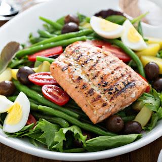Ready Grill Salmon Nicoise Salad
