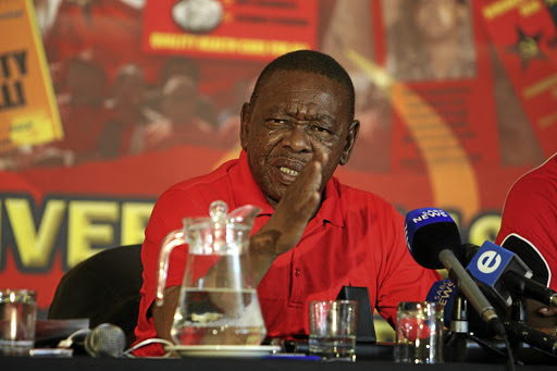 Blade Nzimande. Picture: SOWETAN/SUNDAY WORLD