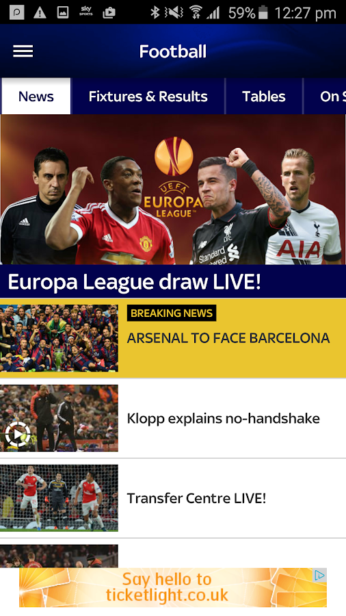 Sky Sports- screenshot