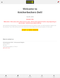 Knickerbockers Deli- screenshot thumbnail