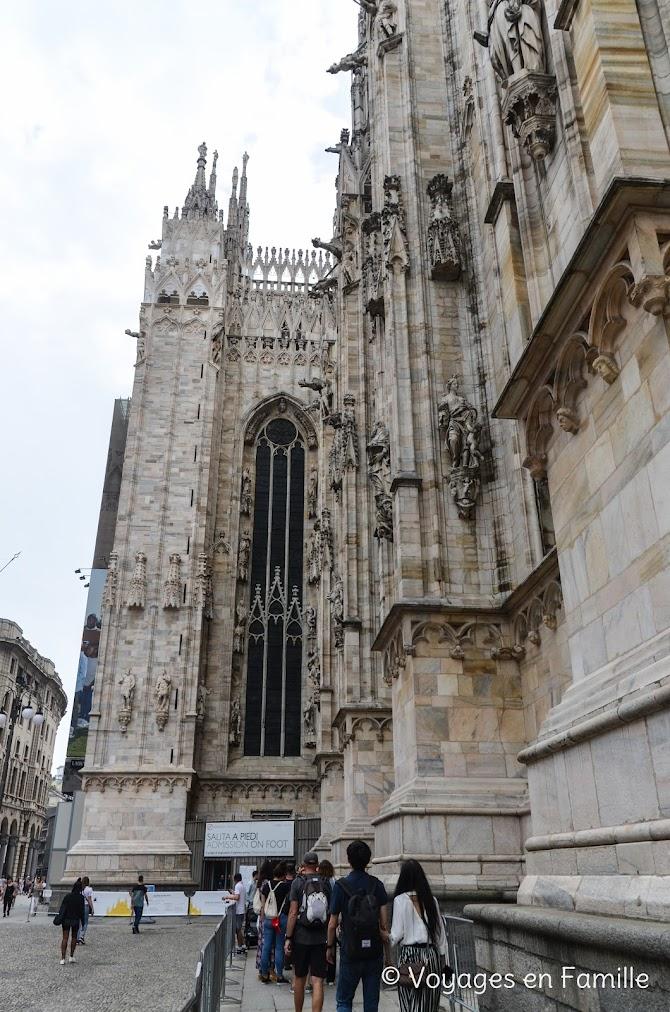 Duomo, accès terrasses
