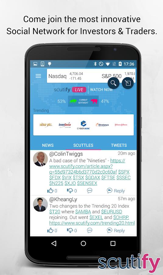 Scutify- screenshot