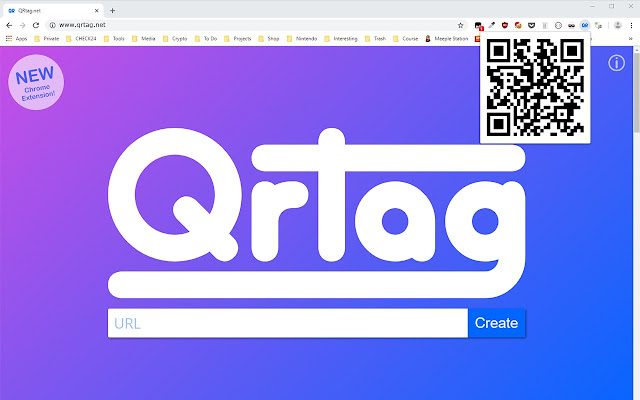 QRtag.net - The QR Code Generator