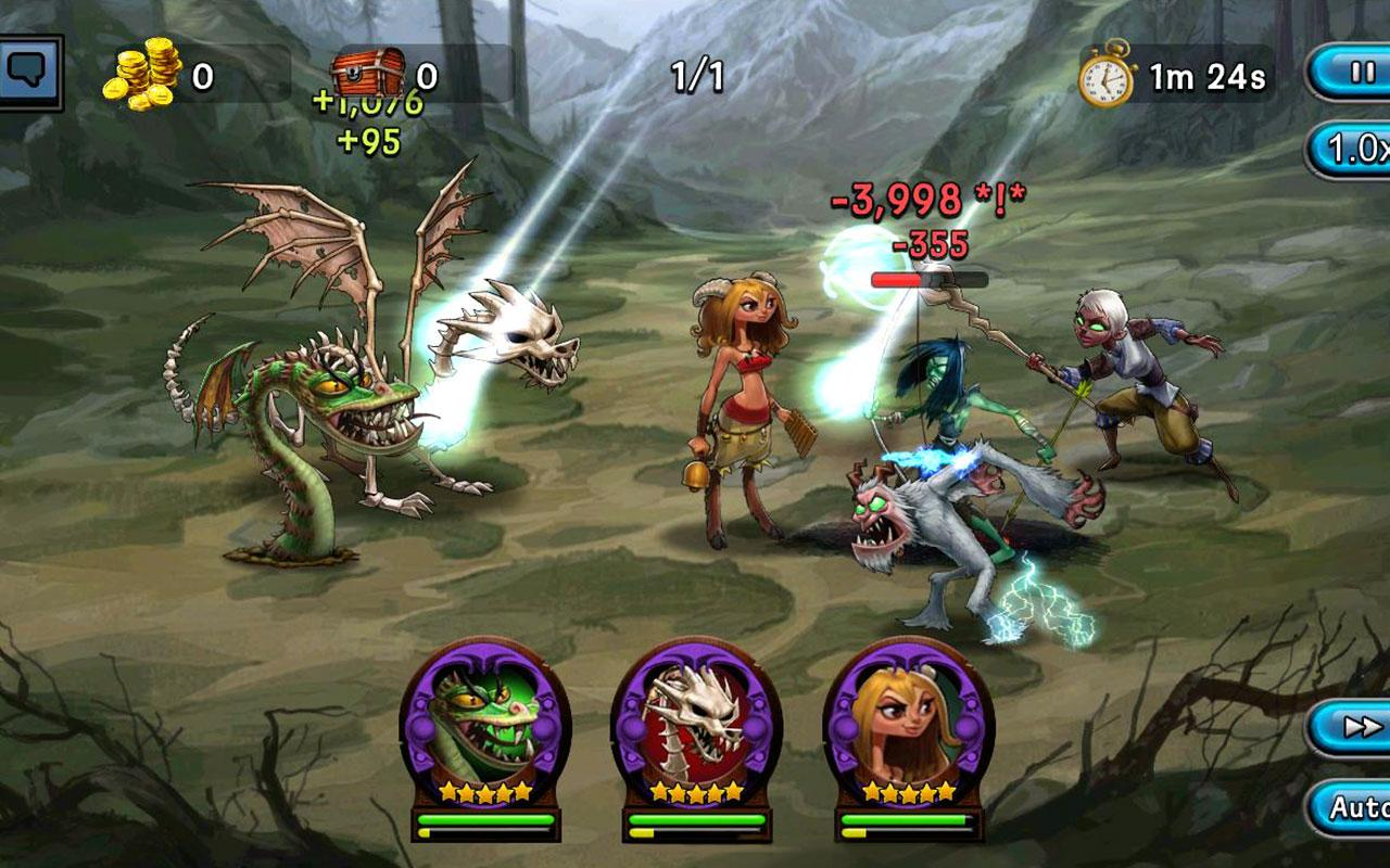 Screenshots of DragonSoul for iPhone