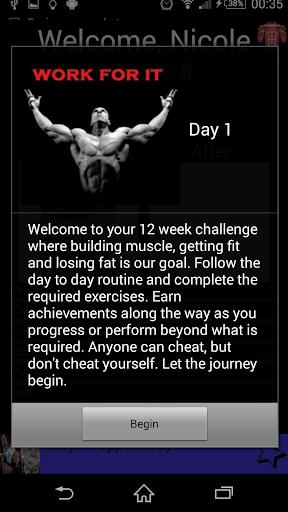 Fitness: 12 Week Challenge