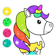 Sparkles Unicorn Coloring Pages