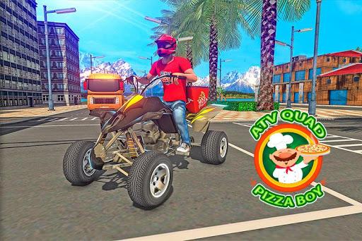 ATV Pizza Delivery Boy  screenshots 4
