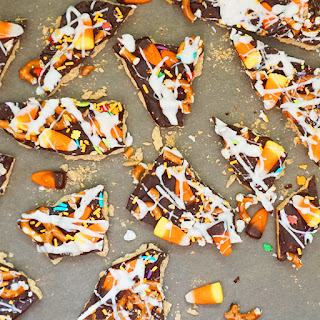Halloween Trash Bark Recipe