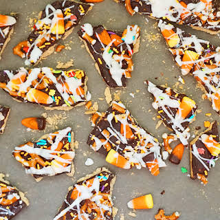 Halloween Trash Bark.