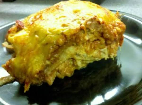 Creamy Cheesey Gooey Enchilada Casserol Recipe