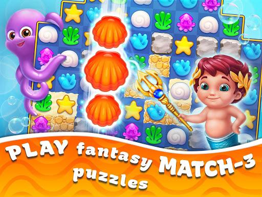 Seascapes : Trito's Match 3 Adventure 2.6 screenshots 19