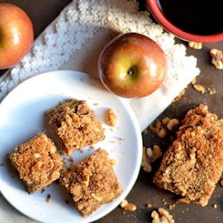 Paleo Apple and Walnut Coffee Cake