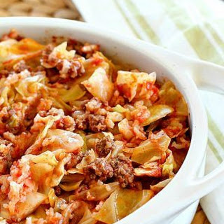 Cabbage Ground Beef Rice Tomato Casserole Recipes.