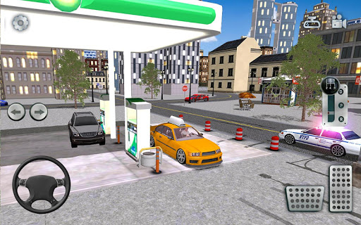 City Taxi Driving simulator: online Cab Games 2020 apkpoly screenshots 8