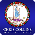 Delegate Chris Collins icon