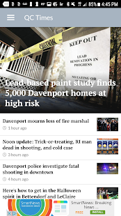 QCTimes News- screenshot thumbnail