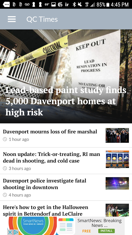 QCTimes News- screenshot
