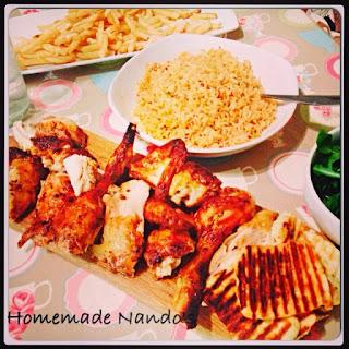 Chicken - Nando's Style
