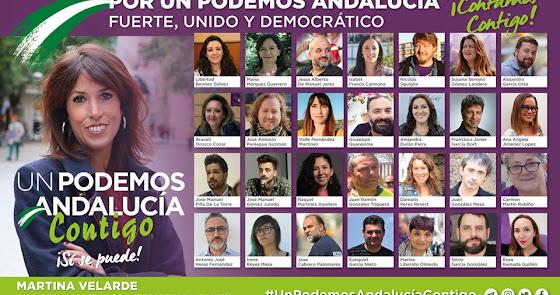 Podemos Almería: Raquel Martínez y Antonio Heras, en la candidatura oficial